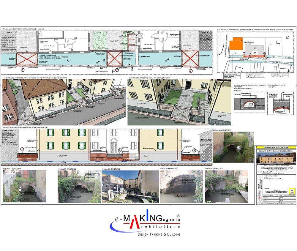 Complesso Ex Remondini: Restauro e risanamento conservativo edificio residenziale edif. B