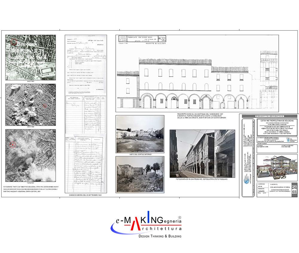 """Liceo """"Laura Bassi"""": Intervento di Miglioramento sismico"""