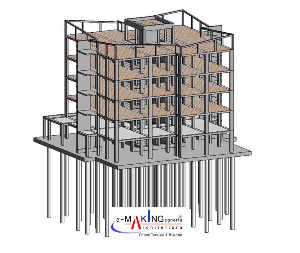 """Tiro a Segno"" New Residential Buildings"